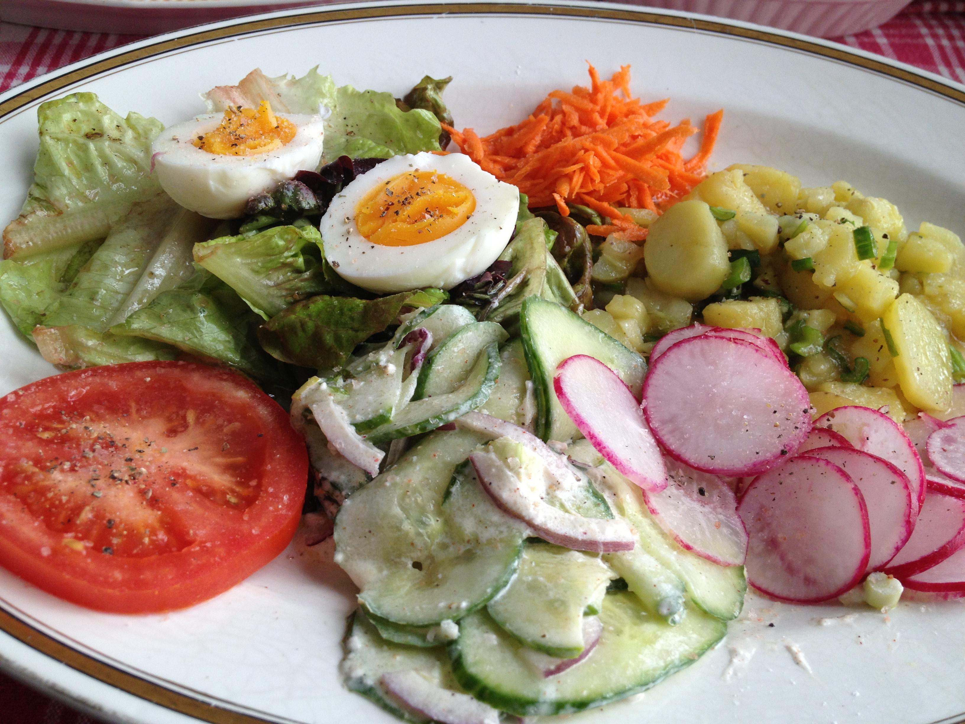 Bunter Colorful Salad