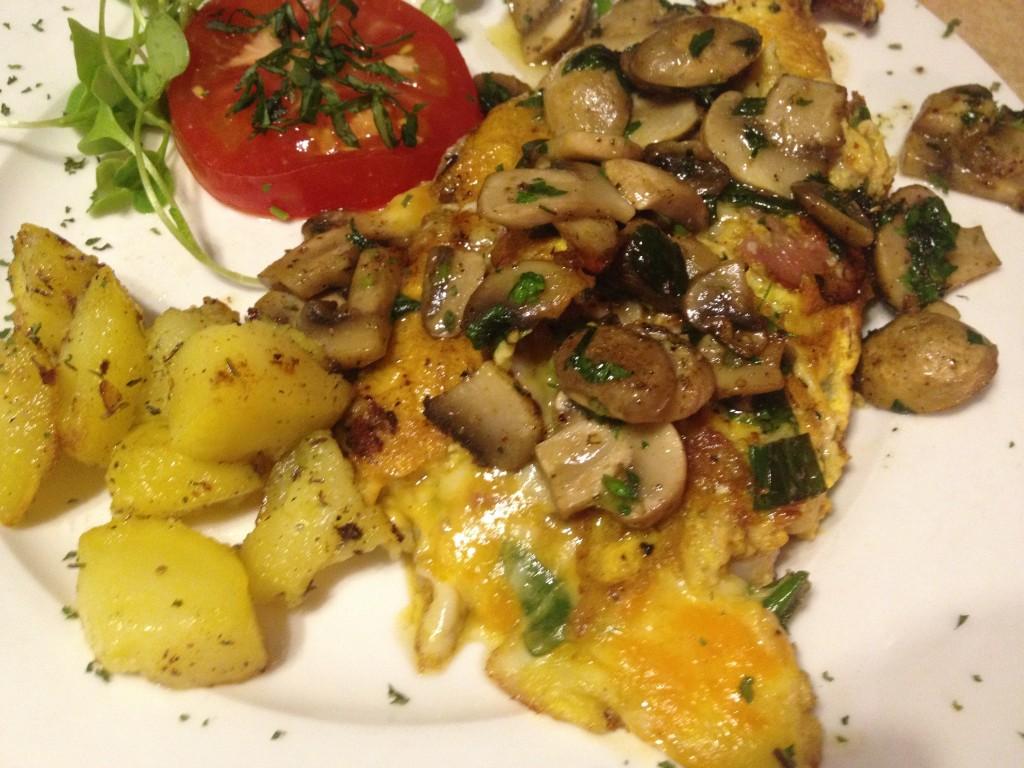 Omelette du Fromage