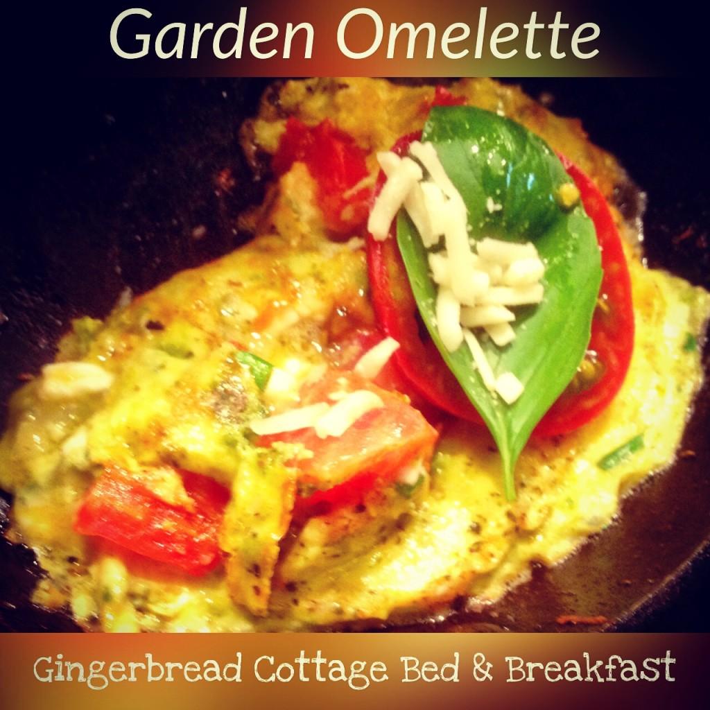 Garden Omelette du Fromage