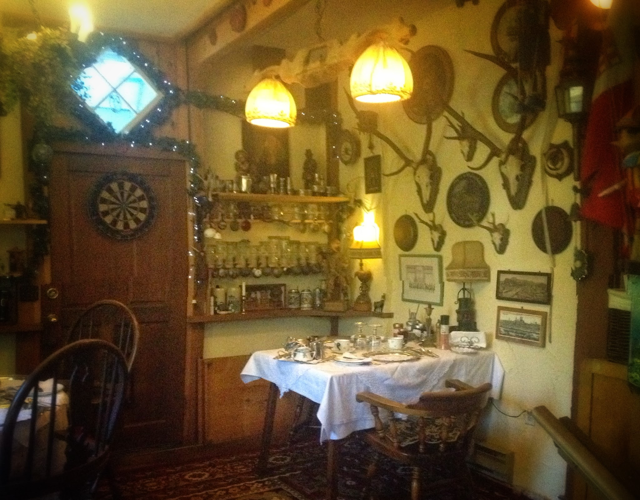 Gingerbread Cottage Gasthaus style Breakfast Room