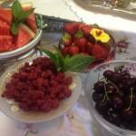 Fresh seasonal Fruits and Berries