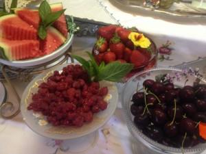 Fresh seasonal Fruits and Berries breakfast ideas