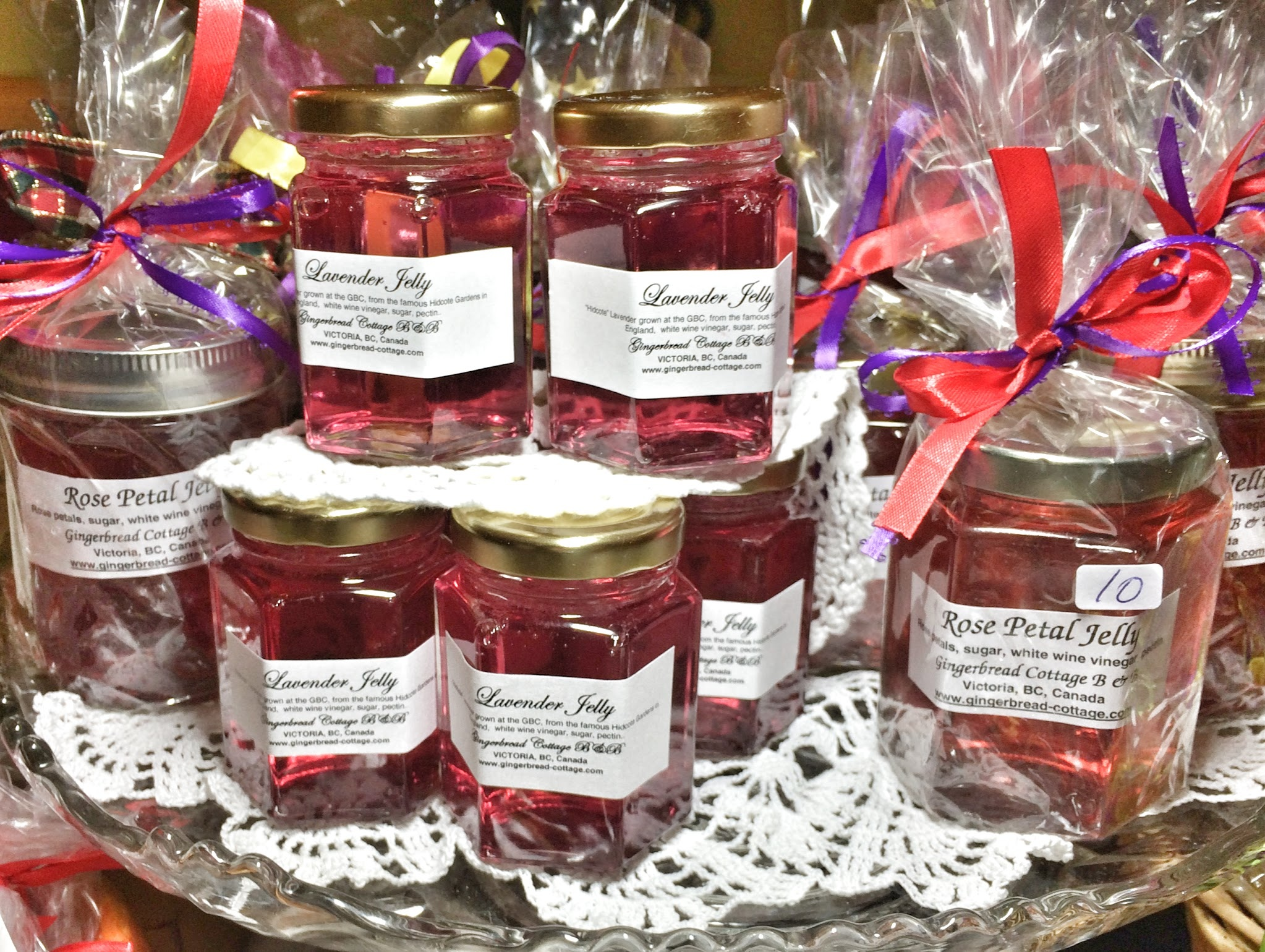 Lavender Jelly at the Gingerbread Cottage Bed and Breakfast