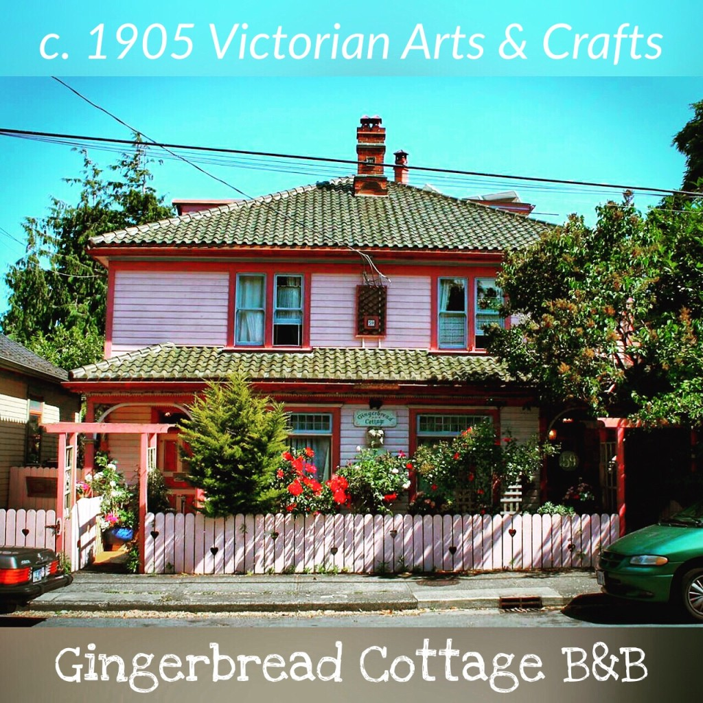 Gingerbread Cottage Victoria BC British Columbia Canada