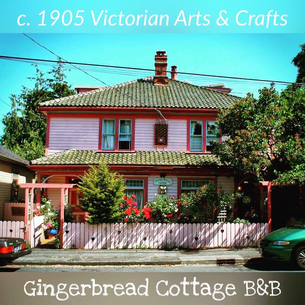 Gingerbread Cottage Victoria BC British Columbia Canada