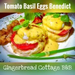 Tomato Basil Eggs Benedict