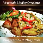 Vegetable Medley Omelette