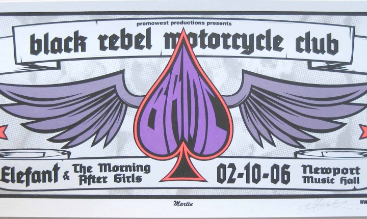 Black Rebel Motorcycle Club, Elefant, Morning After Girls