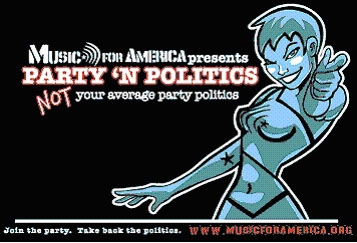 Music for America Inspires Young Voters