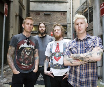 Mastodon on Winter Tour