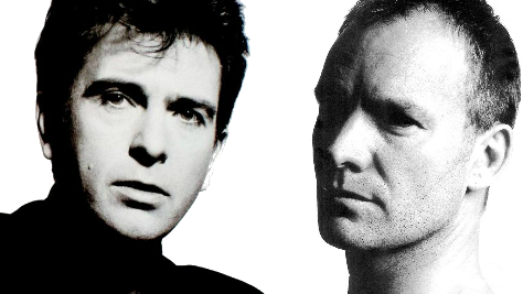 Sting and Peter Gabriel announce joint Rock Paper Scissors Tour