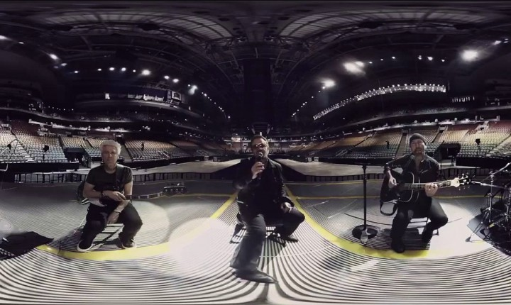 U2 – Song For Someone – 360 degree video version