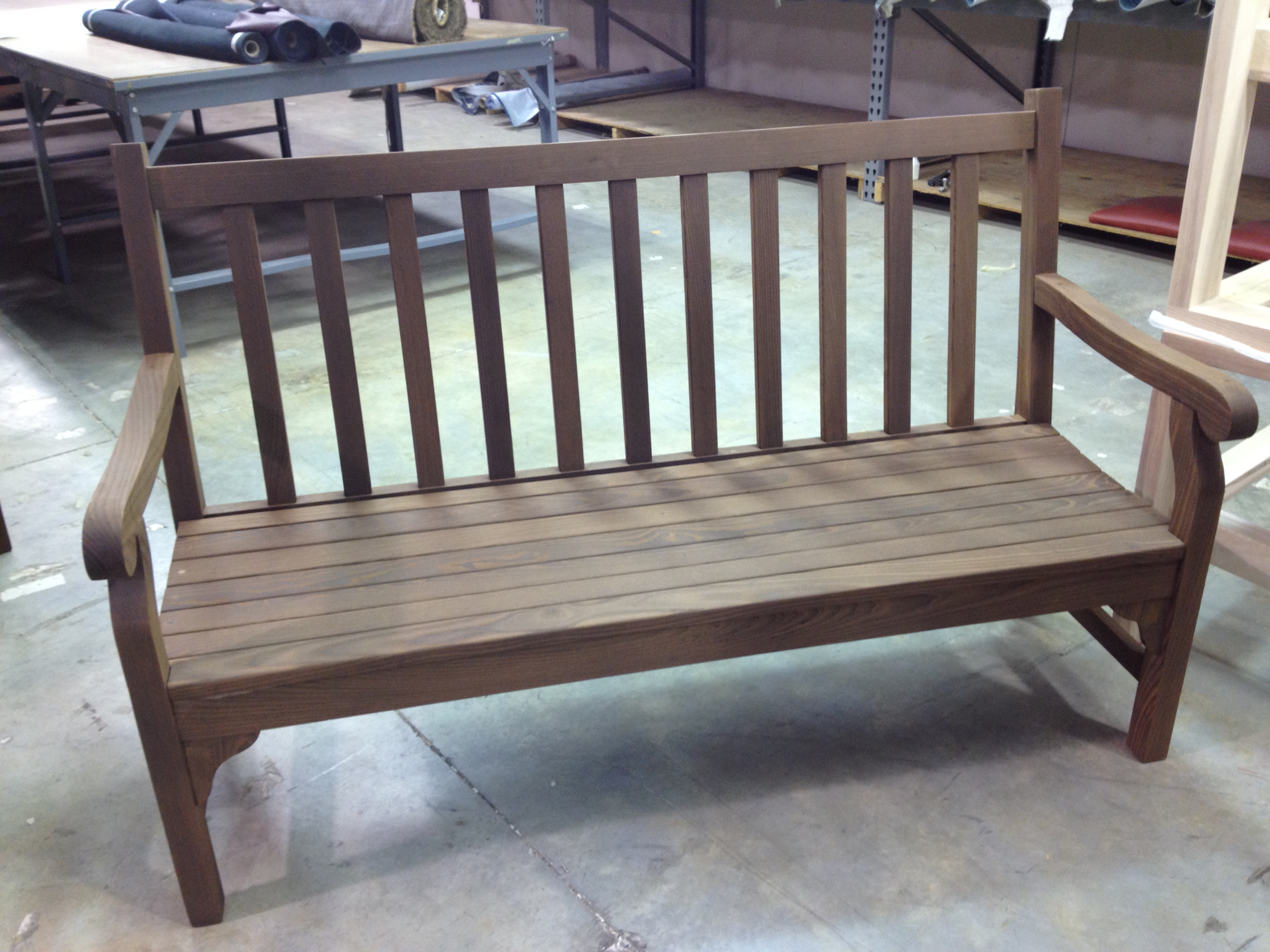 Outdoor bench 4
