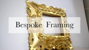 Bespoke Framing Burnished Gold Carved Baroque Style Frame Melbournes Best Picture Framer