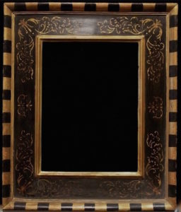 Rich and Davis Hand-made Italian-Style Reproduction Frame with Prezzemolo Detail