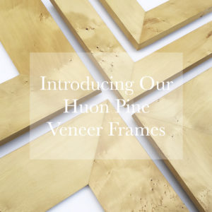 huon pine veneer frame introduction ad 1