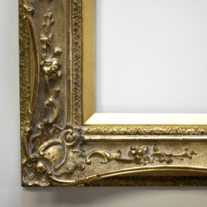 Rich and Davis artisan frame makers antique frame restoration with swept runs Melbourne