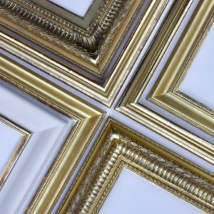 Rich and Davis gilded gold frames made in Melbourne scotia