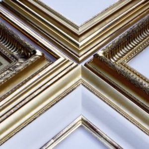 Rich and Davis gilded gold frames made in Melbourne