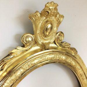 Rich and Davis gold frame restoration 23K melbourne's frame restoration specialists