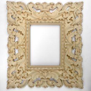 Rich and Davis timber carved baroque custom frame melbourne's best picture framer