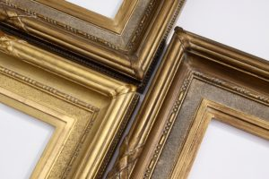 Rich and Davis ornamental gilded picture frame for sir arthur streeton artwork