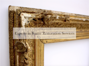 Experts in picture frame and antique furniture restoration in Australia
