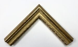 23K gold water-gilded picture frame with ornamental decoration