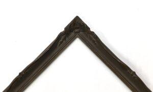 Dark bronze powder frame