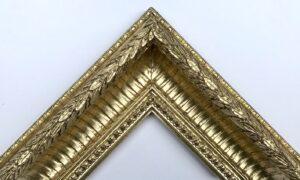Hedingham frame in Dutch metal gold leaf