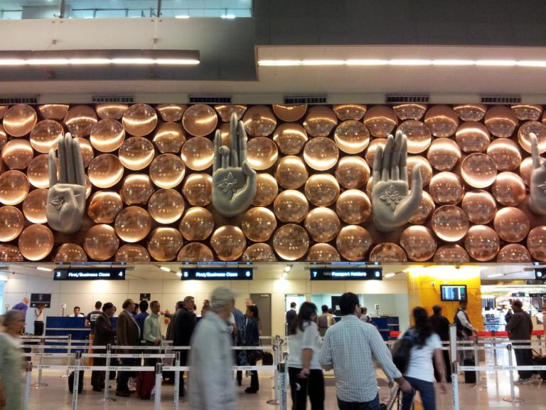Aeropuerto de Delhi, Inmigración en Delhi, Viajar a India