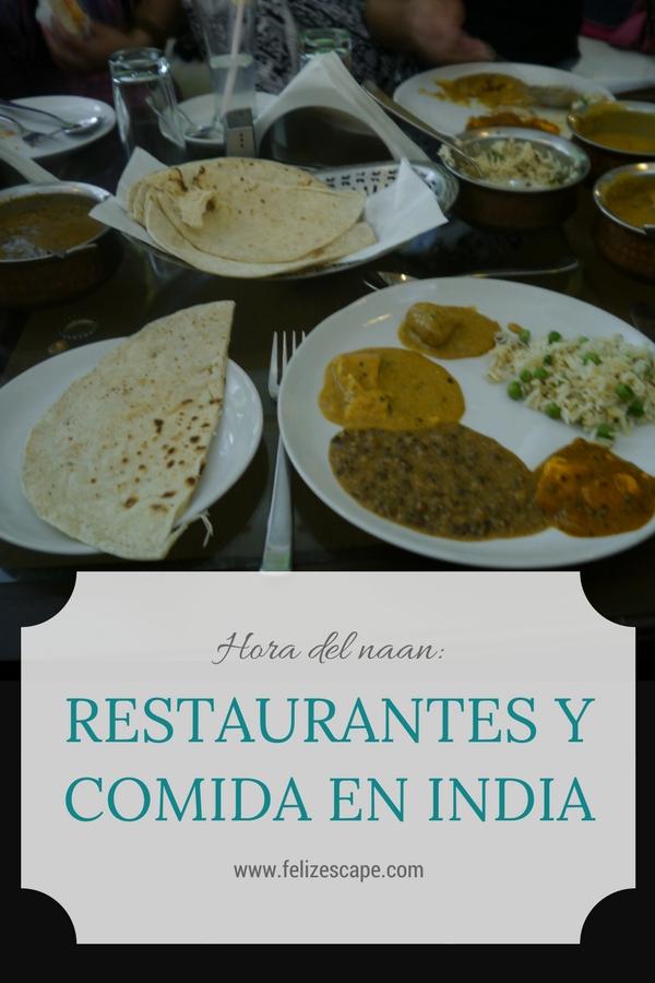 Restaurantes y Comida en India - FelizEscape.com