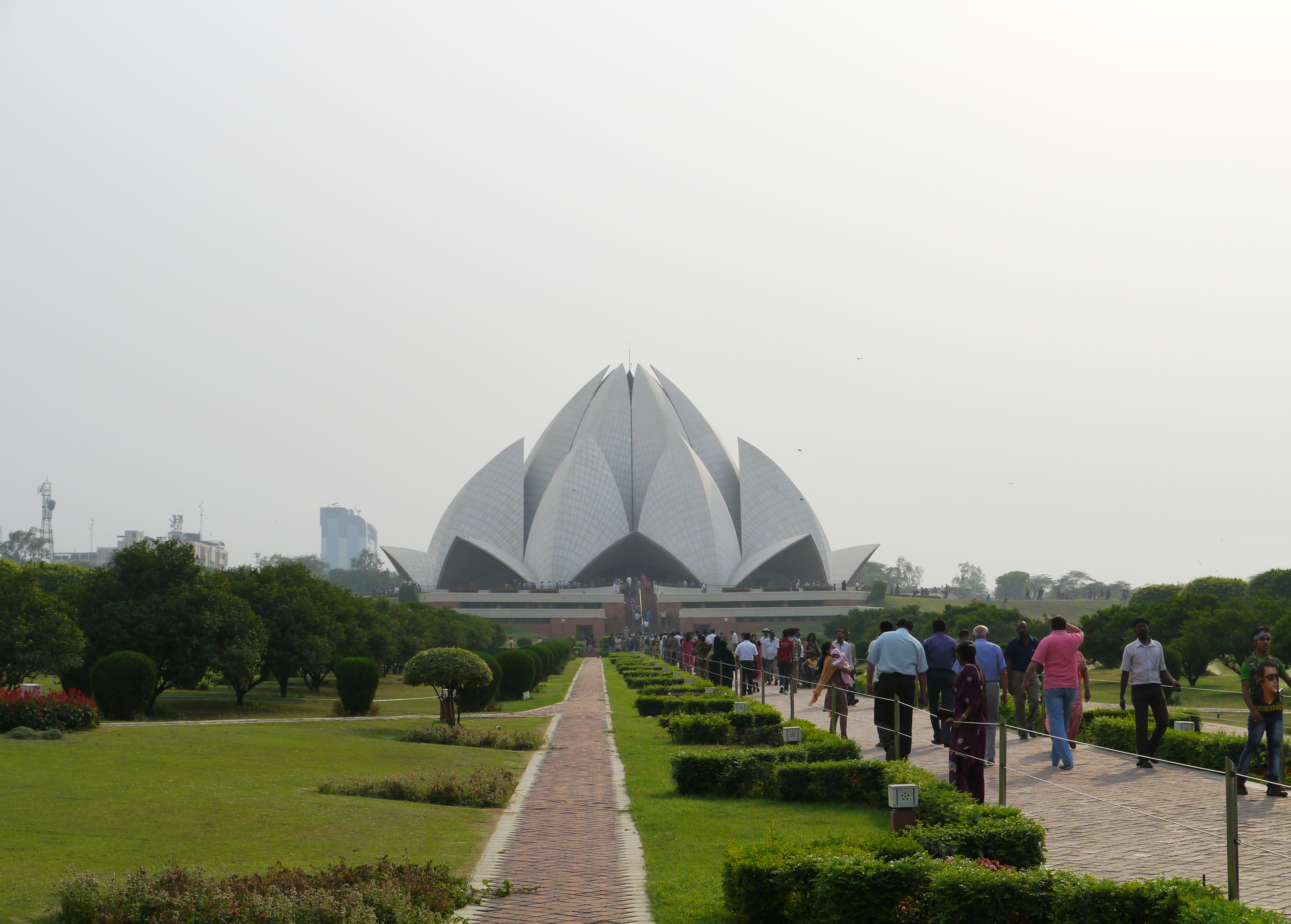 Lotus Temple, New Delhi, Travel India