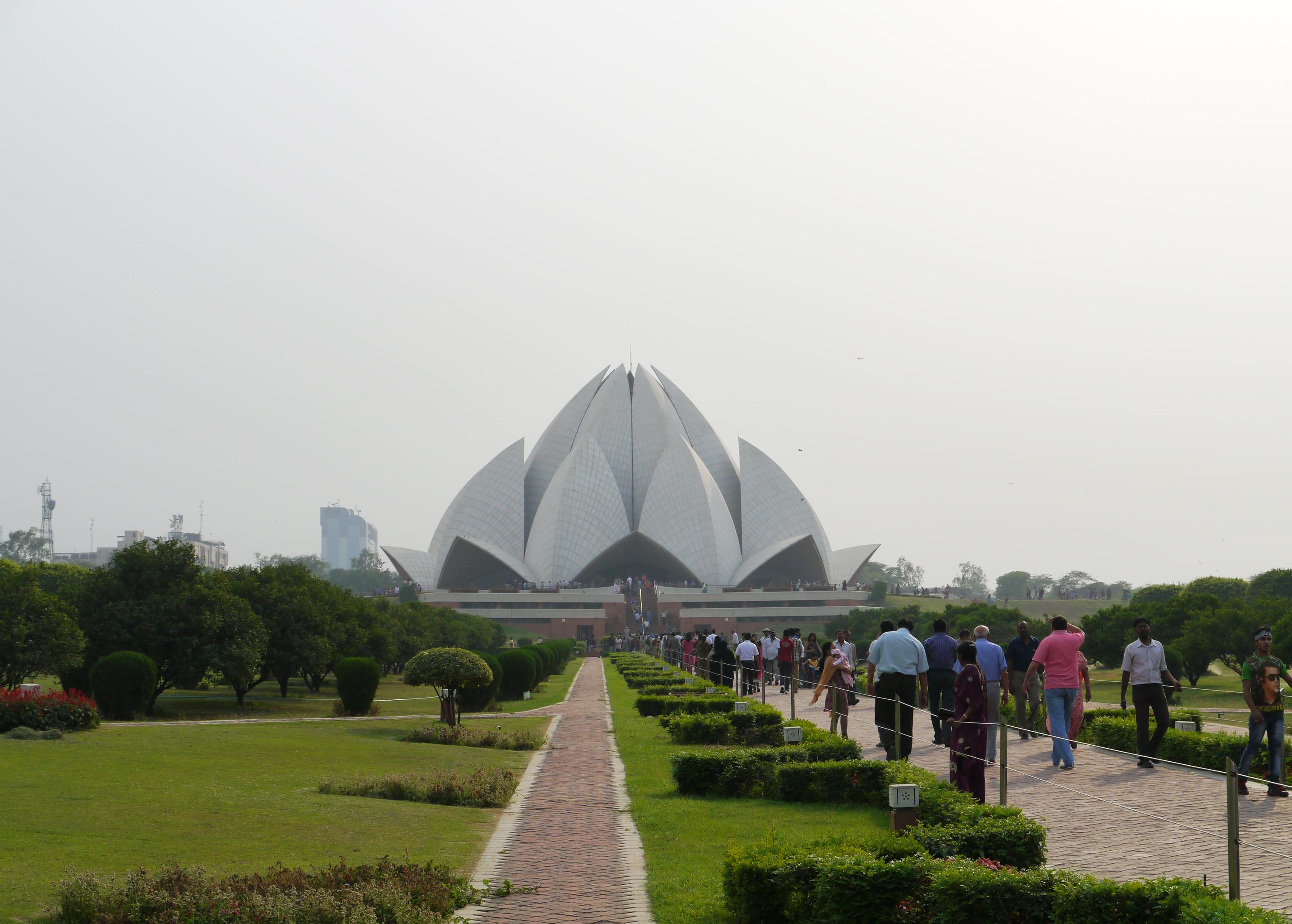 Lotus Temple, New Delhi, Travel India