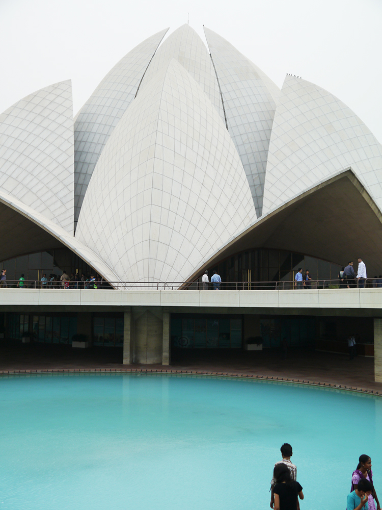 Días en Delhi, Lotus Temple Nueva Delhi