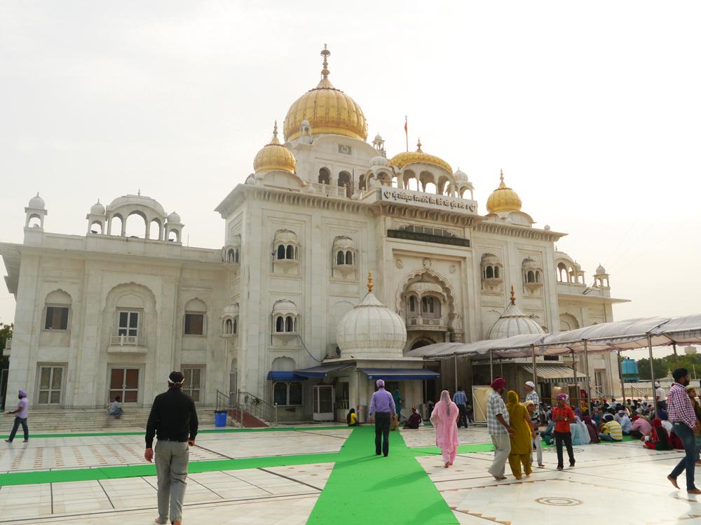 Working in Delhi, Bangal Sahib, Sikhs in Delhi, Sikh Temple, Visit Delhi