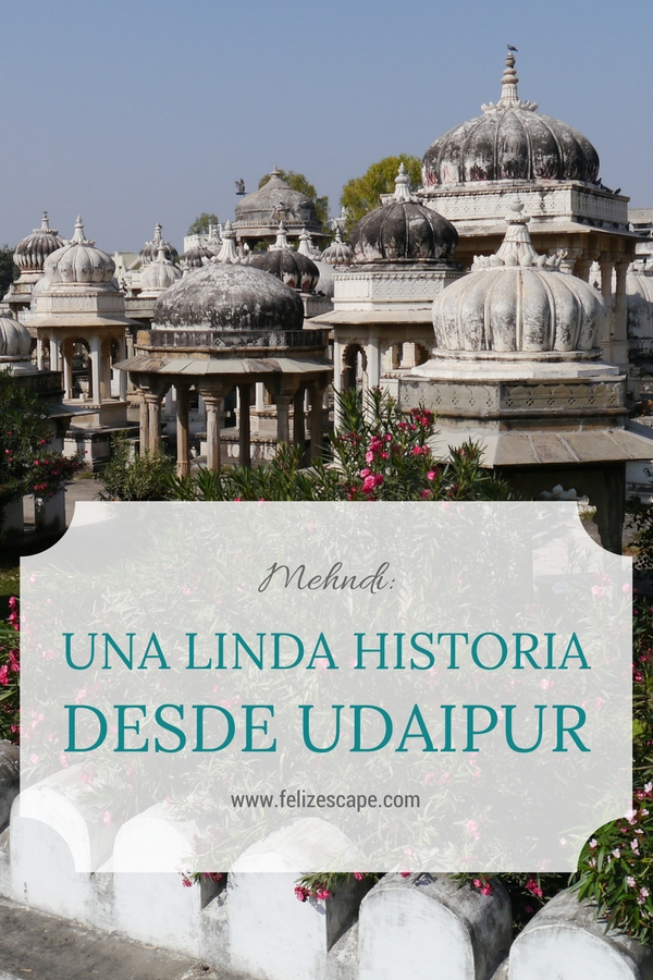 Mehndi: Una linda historia desde Udaipur - FelizEscape.com