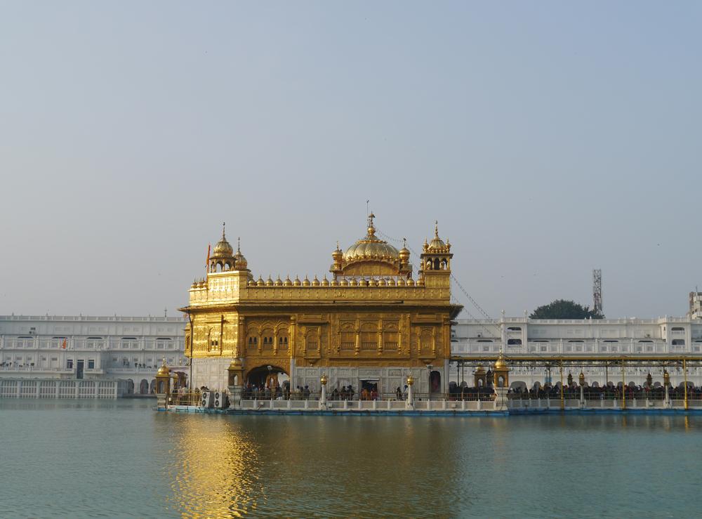 Amritsar, Golden temple, Templo dorado en Amritsar