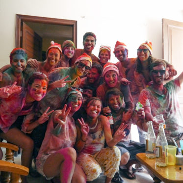 Holi, Holi in New Delhi, Holi Colors