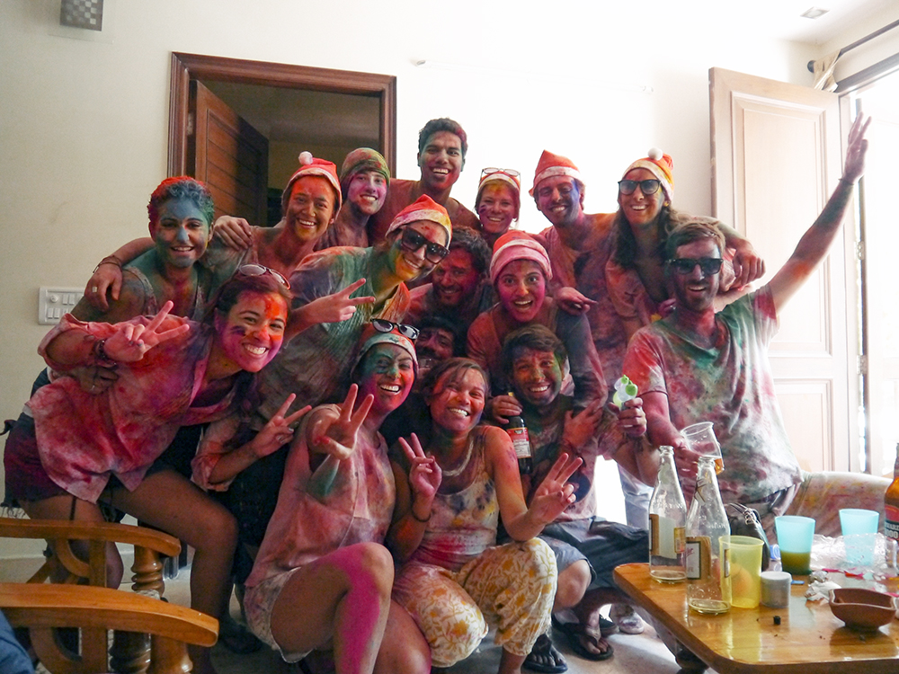 Holi, Holi in New Delhi, Holi Colors