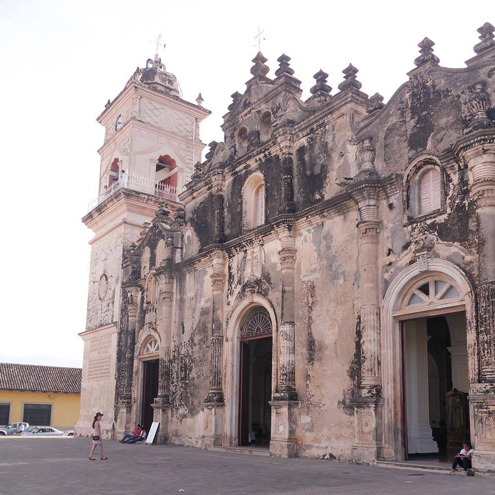 nicaragua, granada, granada nicaragua, iglesia la merced granada