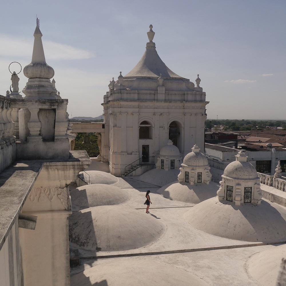 Leon, nicaragua, basilica de leon, leon nicaragua