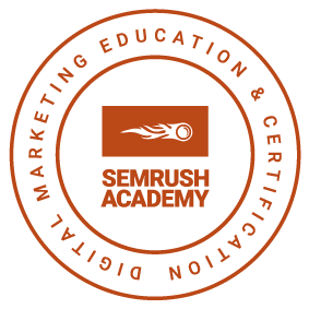 SEMRush SEO Certificate The Wired Agency