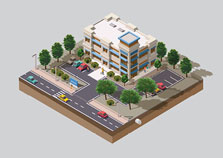 USE TREES & WATER WISELY (OFFICE / RETAIL)
