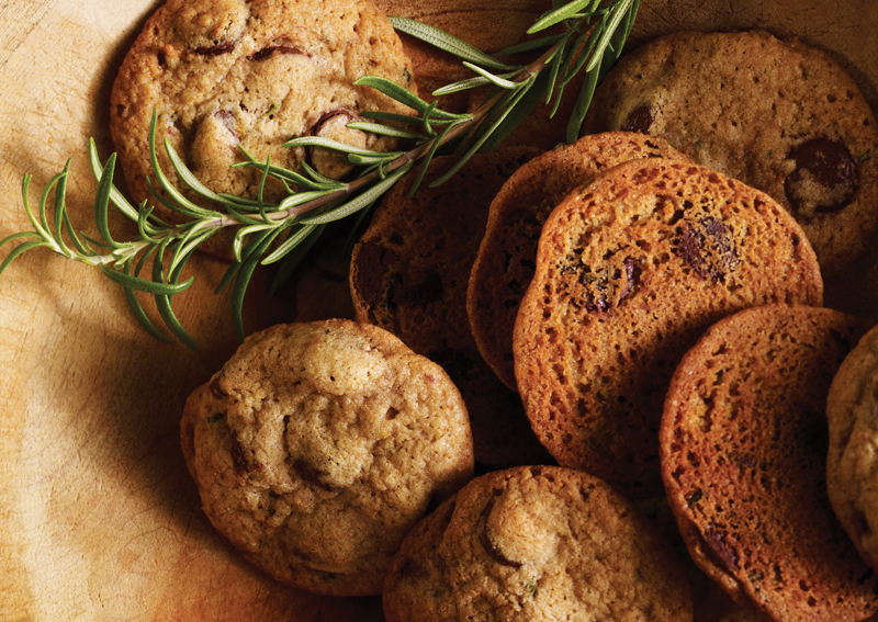 Rosemary-Orange Chocolate Chip