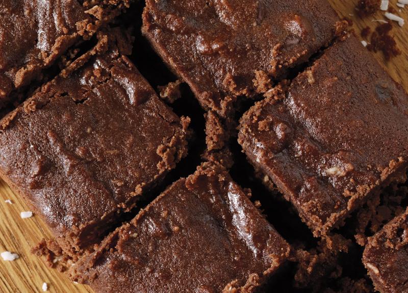 Coconut Fudge Brownies