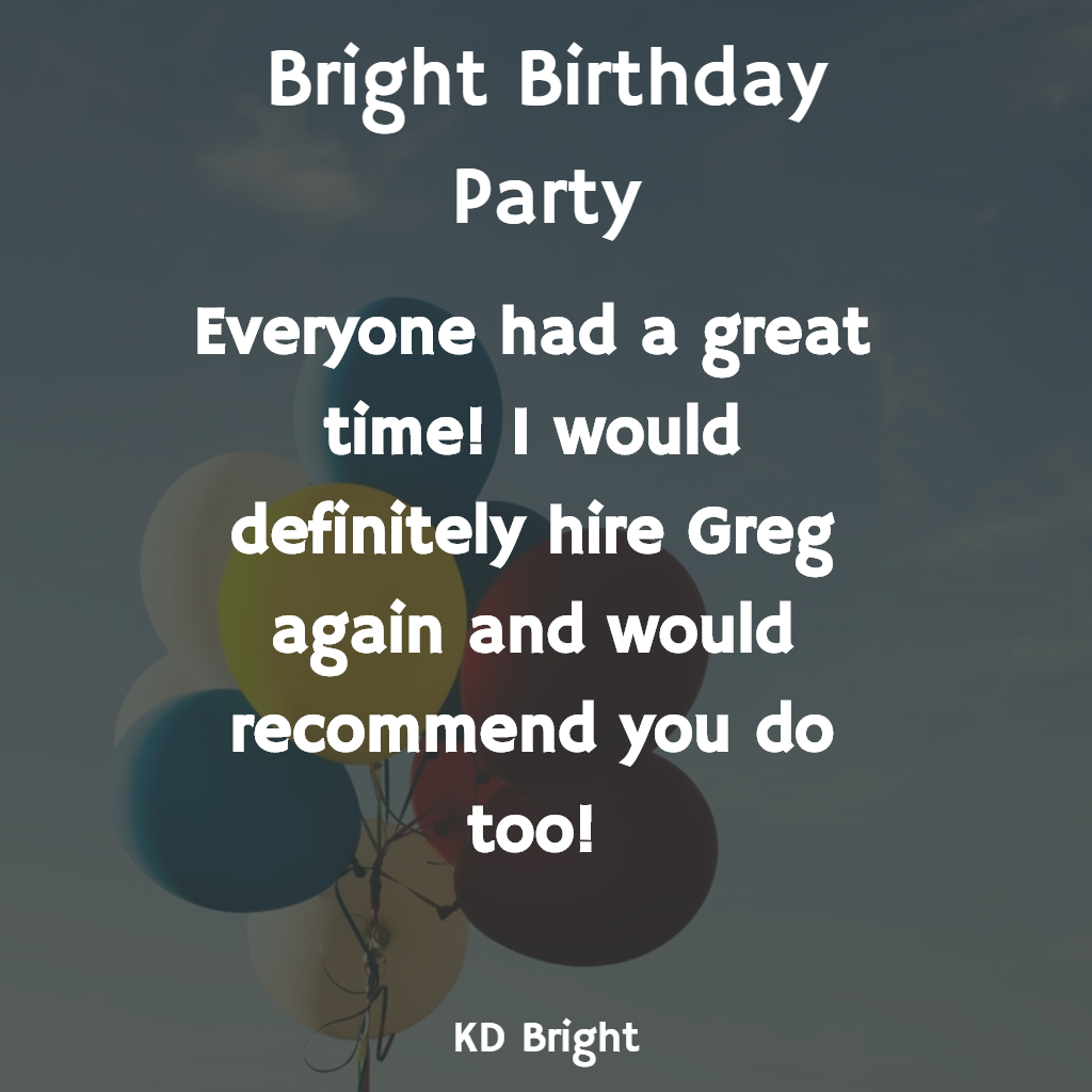 Review from K.D. Bright