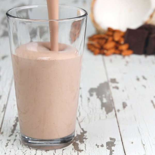 low carb chocolate smoothie