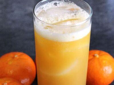 low carb orange drink