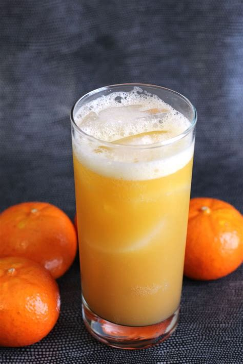 low carb orange drink